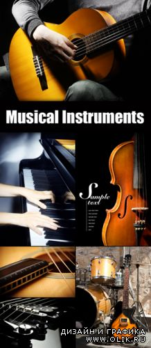 Stock Photo - Musical Instruments