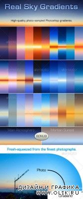 Real Sky Gradients - GraphicRiver