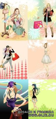 Collection Lovely Psd Girl Source Pack 3 for PHSP