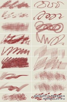 Chaotic Painting Brushes for PHSP