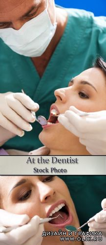 Stock Photo: At the Dentist