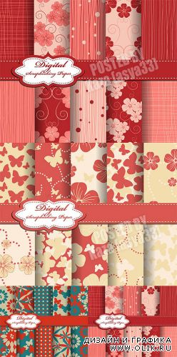 Scrapbook patterns