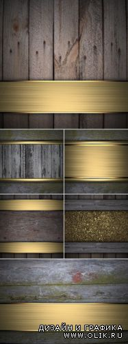 Stock Photo - Luxury Wooden Backgrounds