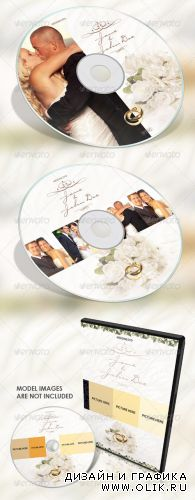 GraphicRiver Classy Wedding DVD Covers
