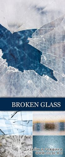 Stock Photo - Broken Glass Backgrounds