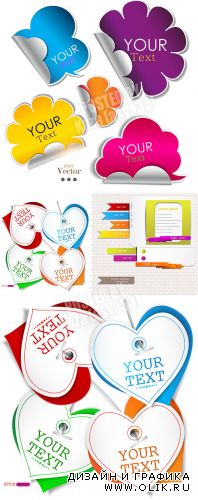 Creative labels, stikers & tags