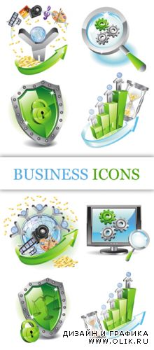 Business Icons Vector 2