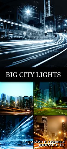 Stock Photo - Big City Lights