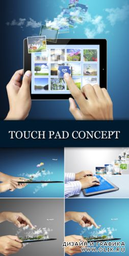 Stock Photo - Touch Pad Technology