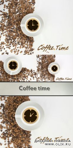 Stock Photo: Coffee time