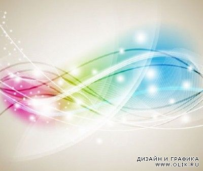 Abstract Colorful Background Vector For PHSP