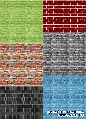 Bricks wall Textures