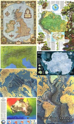 National Geographic - World Maps