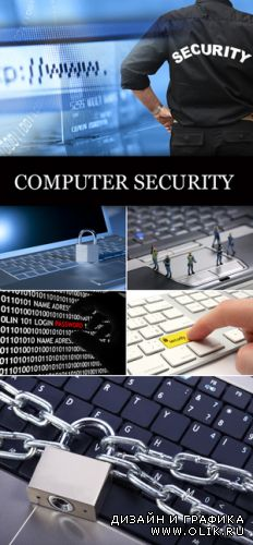 Stock Photo - Computer Security