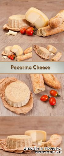 Stock Photo: Pecorino Cheese