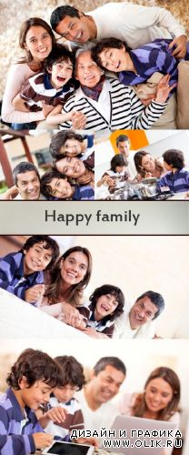 Stock Photo: Happy family 14