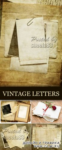 Stock Photo - Vintage Letters