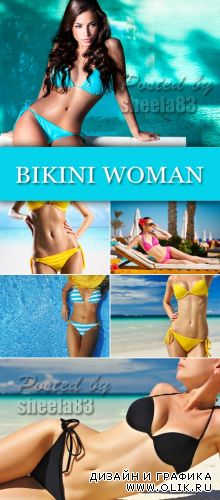 Stock Photo - Bikini Woman