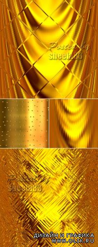 Stock Photo - Golden Backgrounds 2