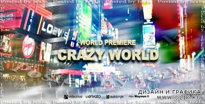 AFEFS Project: Crazy World (VideoHive)