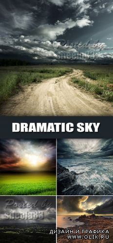 Stock Photo - Dramatic Sky