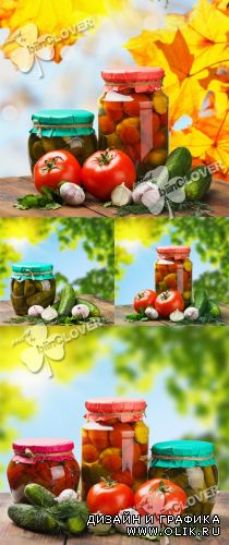 Autumn background with vegetables 0239