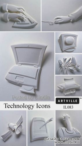 IL083 Technology Icons