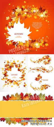 Autumn cards & elements