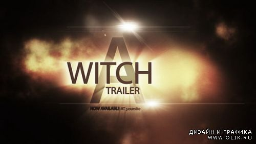 A Witch Trailer — After Effects Project