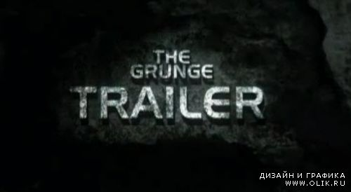 Trailer Grunge — After Effects Project