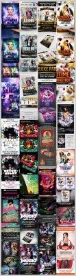 Music Flyers and Posters - Mix Bundle 2012