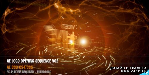 Videohive Logo opening sequence V02 — After Effects Project