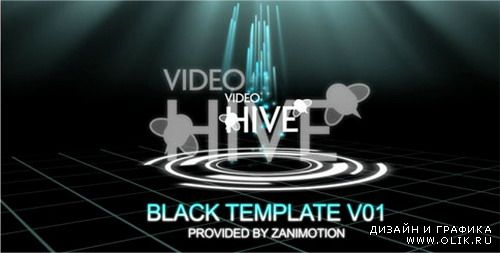 Black Template Pro V01 — After Effects Project