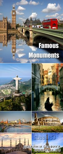 Stock Photo - Famous Monuments
