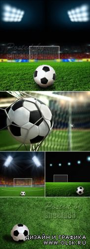 Stock Photo - Soccer Backgrounds