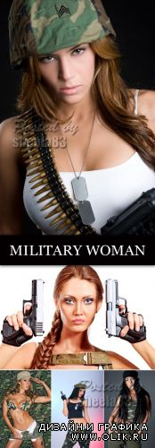 Stock Photo - Military Woman