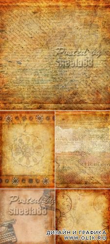 Stock Photo - Vintage Backgrounds with Ornaments
