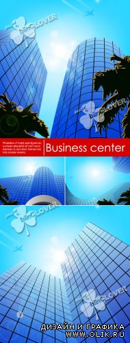 Business center vector illustration 0268