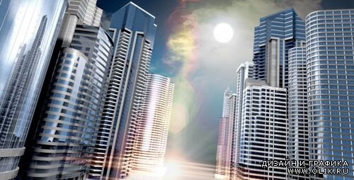VideoHive Motion Graphics - Skyscrapers