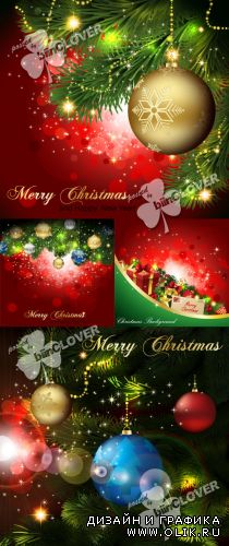 Merry Christmas background 0286