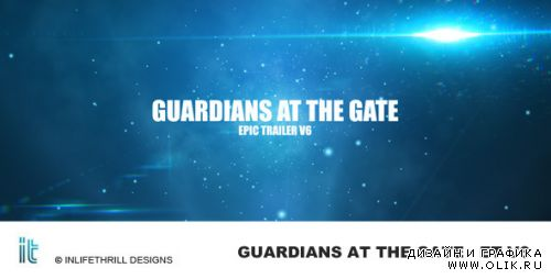 Guardians at the gate - Epic trailer v6 — After Effects Project