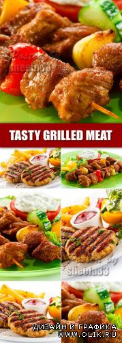 Stock Photo - Tasty Grilled Meat 2