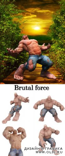 Stock Photo: Brutal force