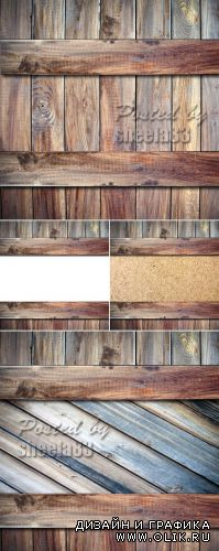Stock Photo - Wooden Planks Backgrounds