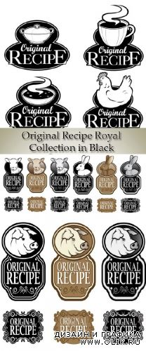 Stock: Original Recipe Royal Collection in Black