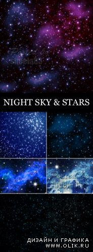 Stock Photo - Night Sky & Stars