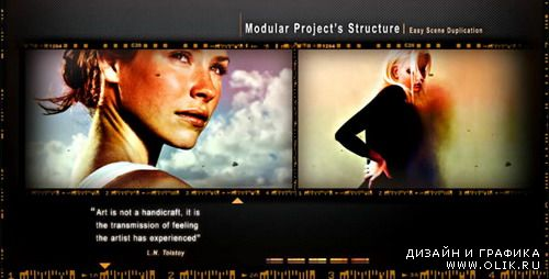 Oldshots Multimedia HD - After Effects Project