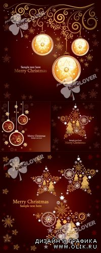 Merry Christmas and New Year cards 0314
