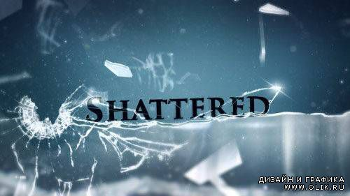 "Shattered «Broken Glass"" (SD HD Projects AE)"