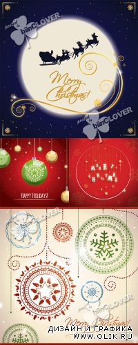 Merry Christmas and New Year cards 0344